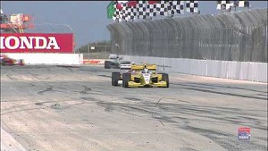 Firestone Indy Lights race on the streets of St Petersburg Highlights