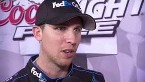 Denny Hamlin sets qualifying record at Charlotte!