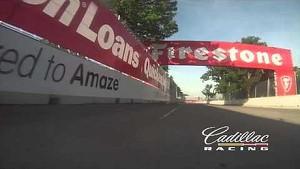 Cadillac Racing Lap of Belle Isle 2013