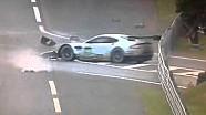 Le Mans 24 hours 2013 Frédéric Makowiecki Aston Martin Crash Car 99