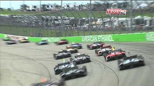 2013 IZOD IndyCar Iowa Corn 250 Race Highlights