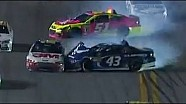 Aric Almirola Crashes | Coke Zero 400, Daytona