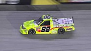 NASCAR Matt Crafton and Brad Keselowski make contact | Bristol (2013)