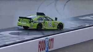 NASCAR Kyle Busch crashes during qualifying | Bristol (2013)
