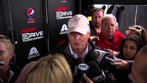 NASCAR Hendrick reacts to Gordon's addition to Chase