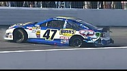 NASCAR damage to Bobby Labonte | New Hampshire Motor Speedway (2013)