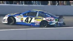 NASCAR damage to Bobby Labonte | New Hampshire Motor Speedway (2013)
