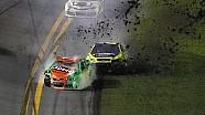 Danica Patrick involved in big wreck - 2014 Daytona 500