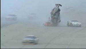 2005 UAW-Ford 500 Scott Riggs Flip Live + Replays