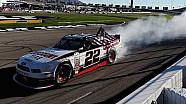 Keselowski has the power, wins in Vegas