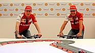 Australian GP - Kimi and Fernando at the 059/3 premiere