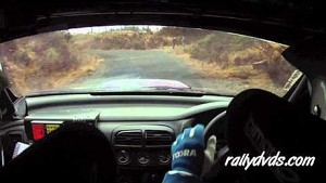 Neil Hickey & Enda Kennedy - Carrick Forestry Rally 2013 - Stage 1