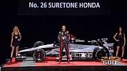 Kurt Busch 2014 Indy 500 Car Unveiling