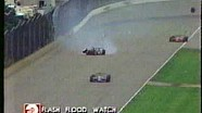 92 Indy 500 - Jeff Andretti and Gary Bettenhausen crash / Andretti breaks his legs