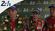 Le Mans 2014: Interview with the winners of GTE Pro