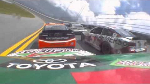 Onboard with Kyle Busch as he flips at Daytona