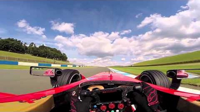 First time ever FIA Formula E full power onboard lap