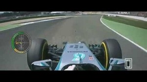 Huge accident for Hamilton during Q1 - 2014 German GP