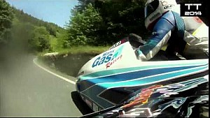 Ben and Tom Birchall's Sidecar Crash - 2014 Isle of Man TT