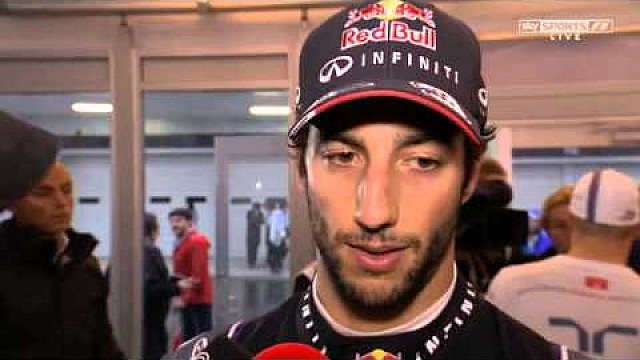 F1 2014 Japanese GP - Daniel Ricciardo post race interview