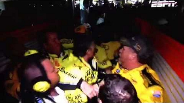 Kenseth/Keselowski fight & interview - 2014 Charlotte