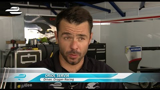 Oriol Servia Putrajaya ePrix pre-race interview
