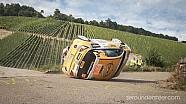 WRC Rally Deutschland 2013 - crashes, close calls & historic cars [HD]