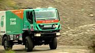 The Petronas De Rooy Iveco Team look towards Dakar 2015