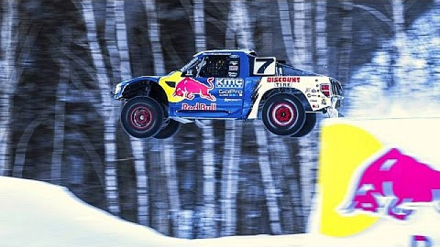 Pro4 Truck Racing in Snowy Conditions - Red Bull Frozen Rush