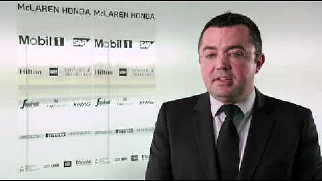 Interview with racing director of McLaren Racing, Eric Boullier