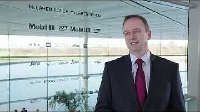 Interview with chief operating officer of McLaren Racing, Jonathan Neale
