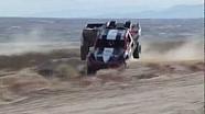 2012 Laughlin Desert Challenge Trucks wreck simultaneously