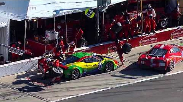Ferrari takes lead of Patron North American Endurance Cup at Daytona