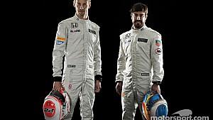 McLaren-Honda 2015 press conference