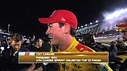 Logano y Harvick intercambian pintura y palabras - Sprint Unlimited 2015