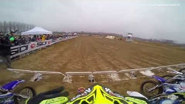 Helmet Cam with Tony Cairoli at the Italian MX championship getting ready for Qatar