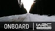 Rally Suecia 2015: Abordo en el SS18 de Mads Ostberg