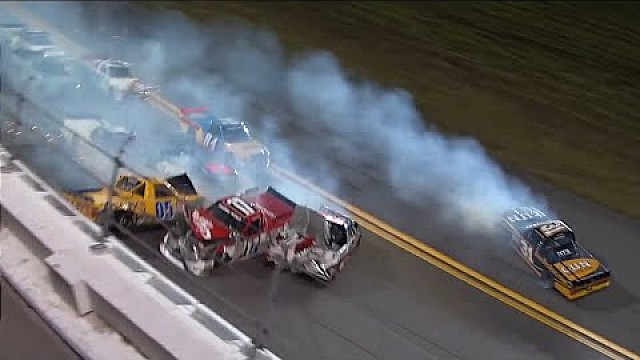 NASCAR/ARCA Daytona Speedweeks 2015 Crash Compilation