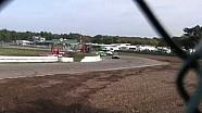 Rallycross crash at Duivelsbergcircuit Maasmechelen