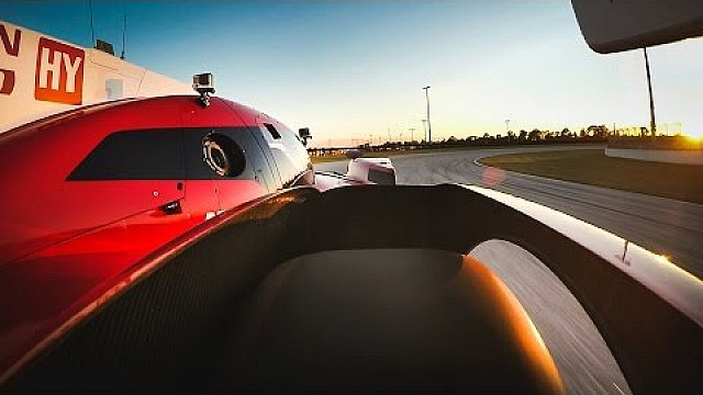 Onboard the 2015 Nissan LMP1 GT-R LM