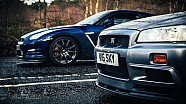R34 Nissan Skyline GT-R Vs R35 GT-R: The Ultimate Godzilla Review
