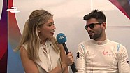 Miami ePrix - Jaime Alguersuari and Sam Bird interviews