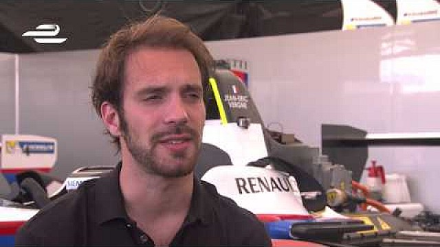 Miami ePrix - Jean-Eric Vergne pre-race interview