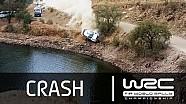 WRC Rally Guanajuato México 2015 : L'accident d'Ott Tanak