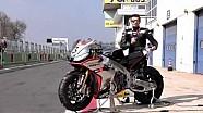 Caméra embarquée avec Max Biaggi en Superbike