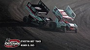 Aspectos destacados: Mundo de Outlaws Sprint Cars Stockton Pista de tierra 21 de marzo 2015
