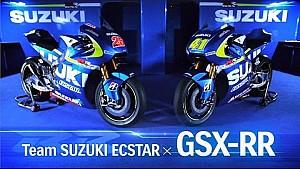 Presentación de la GSX-RR de Suzuki Ecstar