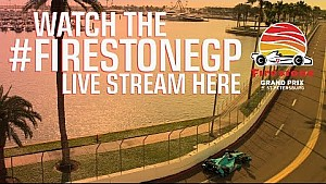 #FirestoneGP of St.Petersburg Practice & Qualifying - Day 2
