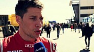 WEC Prologue 2015 - Loïc Duval's interview about the new season, the new Audi R18 e-quattro