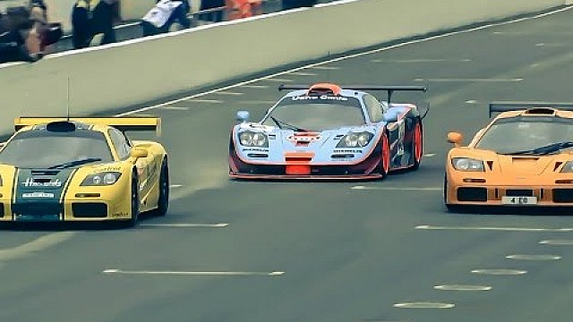 McLaren F1 GTRs gather at Goodwood's 73rd Members' Meeting